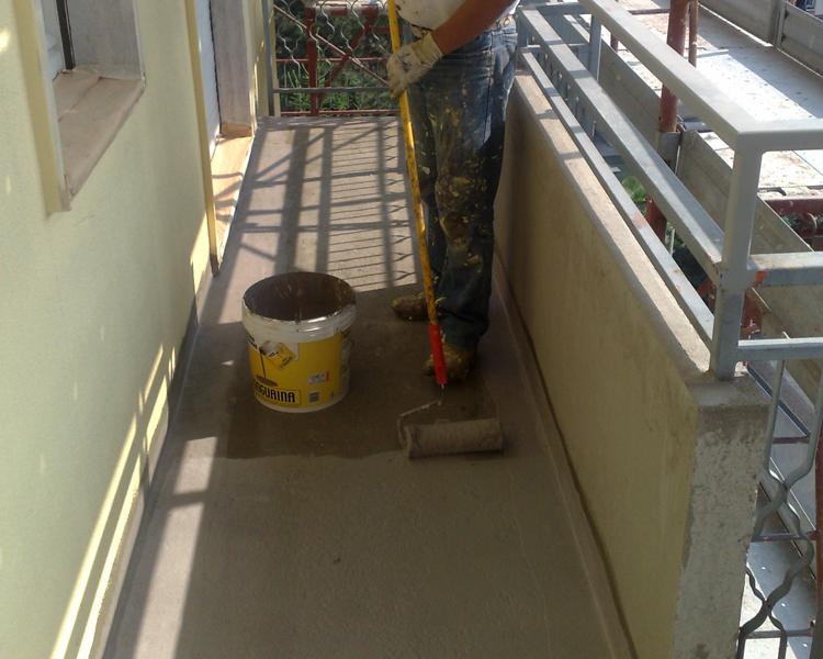 Deimar decor impermeabilizzazioni varese - Impermeabilizzazione balconi ...